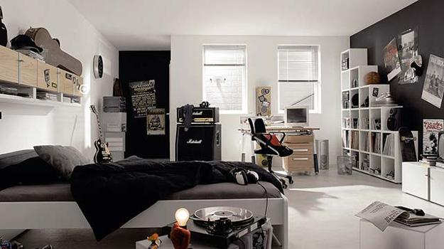 . Modern Teenage Bedroom Design Ideas and Stylish Teens Room Decorations