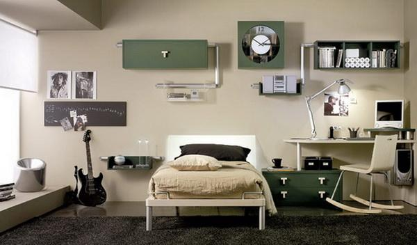 Modern Teenage Bedroom Design Ideas and Stylish Teens Room ...