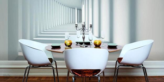 Modern Interior Design Trends In Photo Wallpaper Prints And
