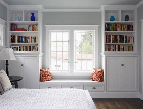 Window Seat Design With Storage Drawers