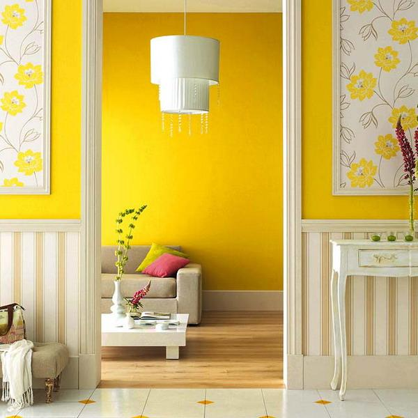 20 Modern Kitchens Decorated In Yellow And Green Colors: 25 Dazzling Interior Design And Decorating Ideas, Modern