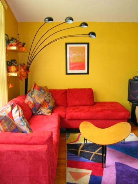 25 Dazzling Interior Design And Decorating Ideas, Modern Yellow Color Combinations