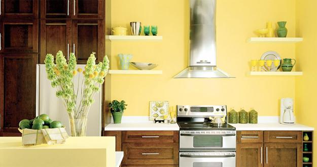 25 Dazzling Interior Design and Decorating Ideas, Modern Yellow ...