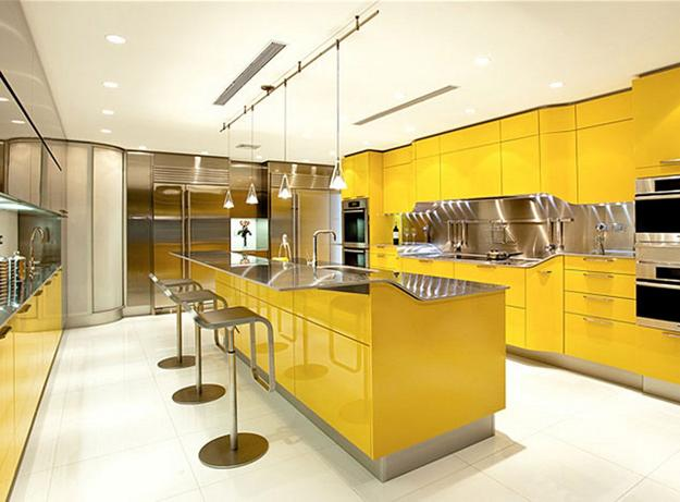 Luminous Interior Design Ideas and Shining Yellow Color Schemes