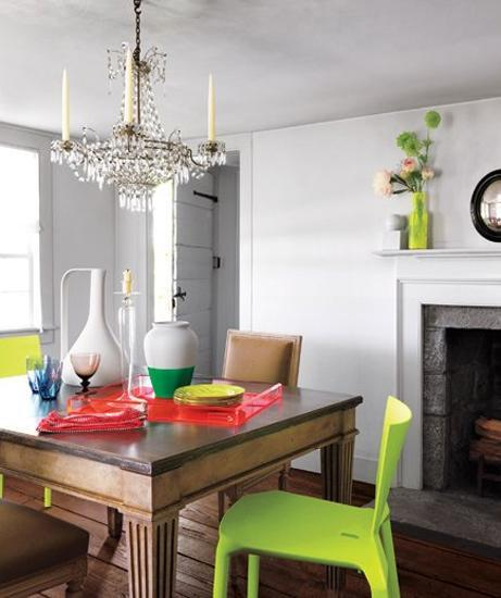 Decorating Excellent Accent To Your Contemporary Decor: 25 Modern Interior Design Ideas Creating Bright Accents