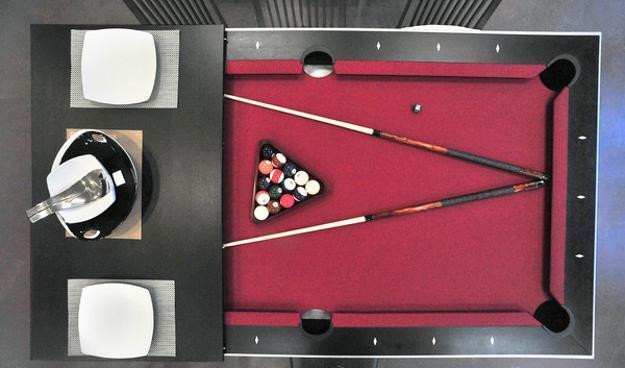 Dining Table Billiard Transformer Furniture Design For Small Es