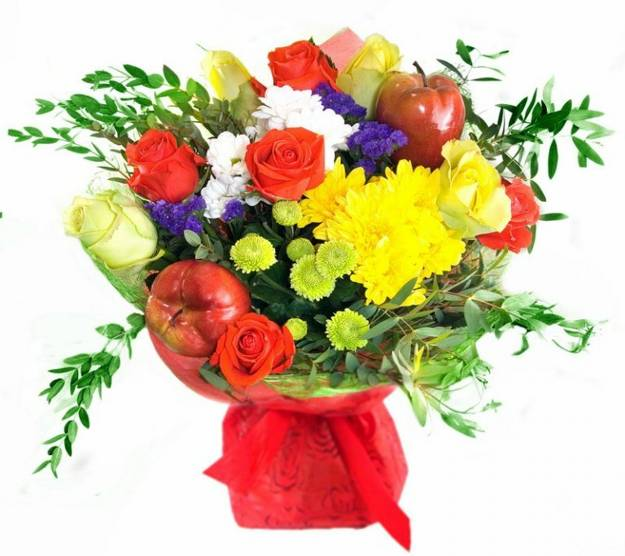 22 colorful fall flower arrangements and autumn table centerpieces bright fall flower arrangement with yellow red blue and white flowers mightylinksfo
