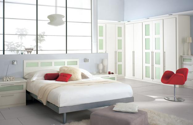 modern bedroom furniture and space saving interior design ideas, fitted furniture for storage