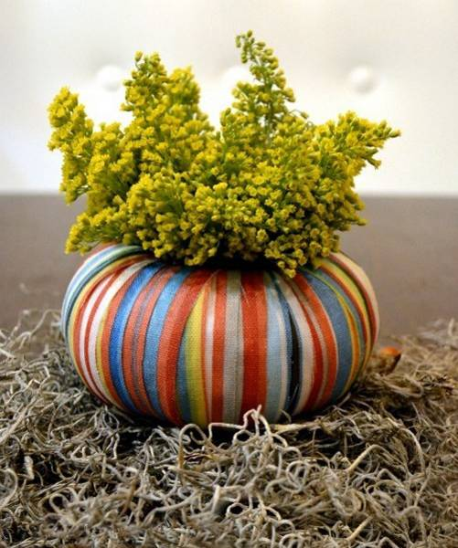 How To Create Fall Flower Arrangements In Handmade Pumpkin And Gourd Vases
