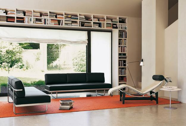 Contemporary Living Room Design With The Designer Chair