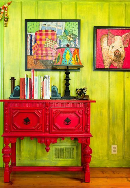 25 Bright Interior Design Ideas and Colorful Inspirations for Home ...