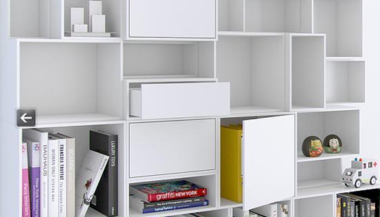 Modular Shelving Systems Adding Fun And Color To Modern