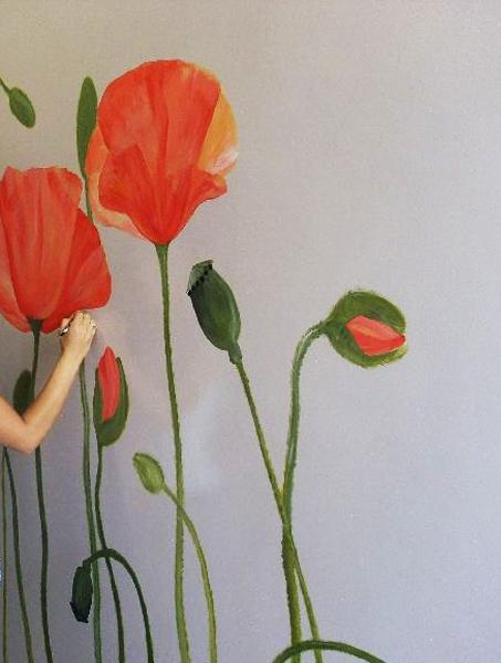22 Ideas To Add Poppy Flower Designs To Home Decorating