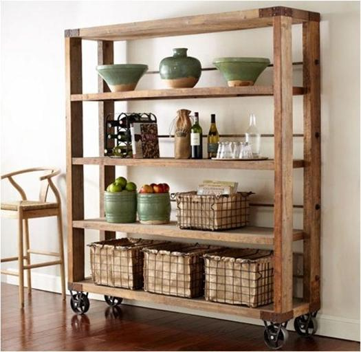Modern wall shelves and shelving units & 30 Space Saving Ideas to Add Shelving Units to Modern Interior Design