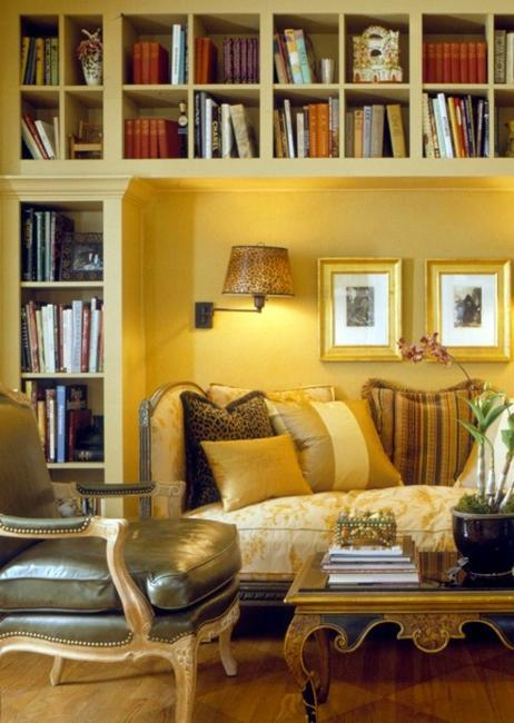 Library Room Ideas For Small Spaces: 30 Space Saving Ideas To Add Shelving Units To Modern
