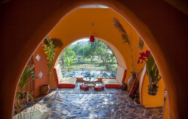 Exotic Modern House Design Offering Inexpensive And Eco Friendly Inspiration Dome Home Interiors