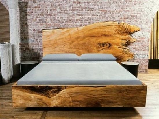 Solid Wood Bed Design, Original, Creative And Unique Furniture Design Ideas