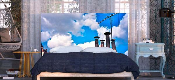 modern bedroom ideas digital prints for bed headboard designs
