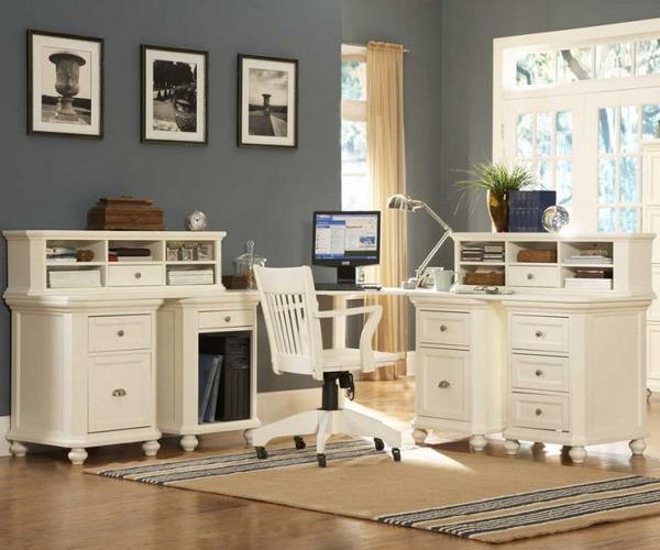 Office Collections: 30 Corner Office Designs And Space Saving Furniture
