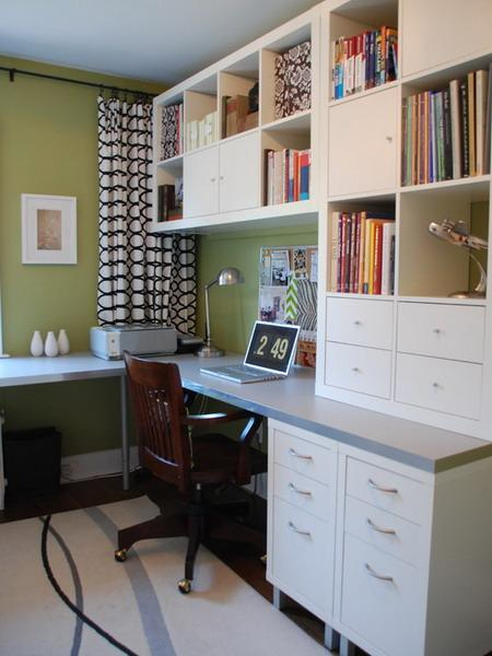 Small House Space Saving Design: 30 Corner Office Designs And Space Saving Furniture