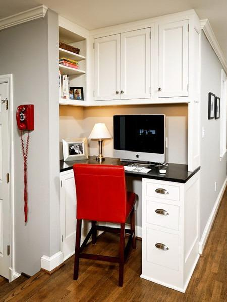 Small Study Room: 30 Corner Office Designs And Space Saving Furniture