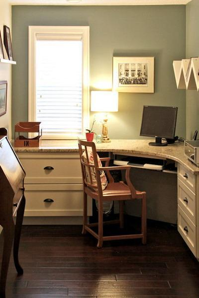 Tiny Home Designs: 30 Corner Office Designs And Space Saving Furniture