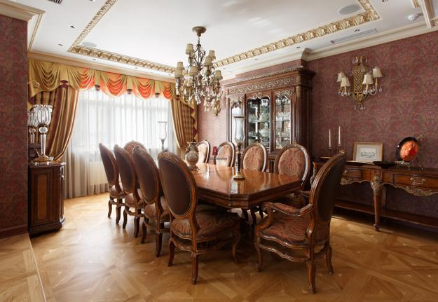 30 Dining Room Decorating Ideas: 30 Modern Ideas For Dining Room Design In Classic Style