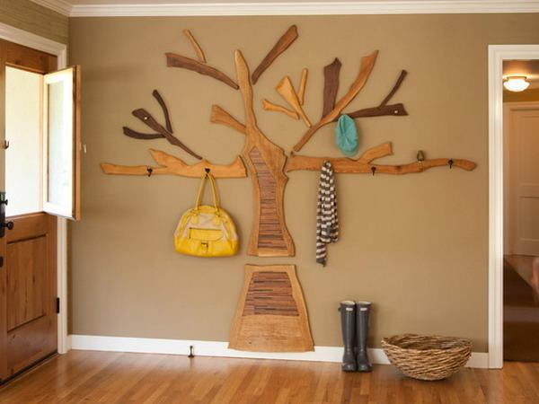 40 DIY Tree Coat Racks Personalizing Entryway Ideas With Inspiring Awesome Branch Wall Coat Rack