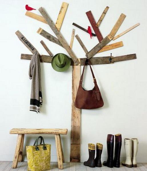 40 DIY Tree Coat Racks Personalizing Entryway Ideas With Inspiring Unique Wood Coat Rack Diy