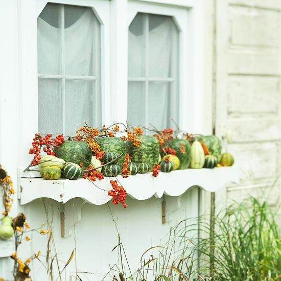 30 creative fall table decorations and centerpieces with - Window decorations for fall ...