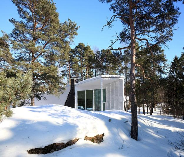33 Forest Cottages And Modern Houses Surrounded By Trees