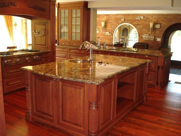 modern kitchen designs with islandsa and granite countertops