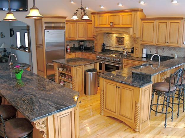 Granite Countertops Adding Practical Luxury To Modern Kitchen Designs Adorable Modern Luxury Kitchen With Granite Countertop