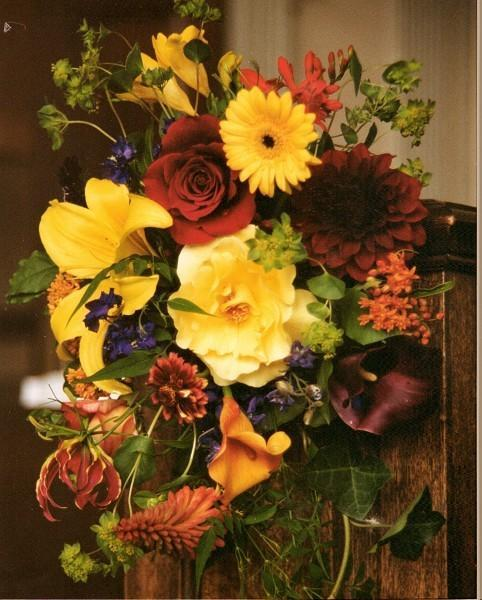 Colorful Home Decorating With Fall Flowers Inspiring Fall Decorating Ideas