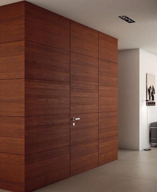 Natural Colours Bedroom Bedroom Christmas Lighting Bedroom Door Paint Ideas Bedroom Door Brown: 25 Ideas Enhancing Modern Room Design With Invisible Or