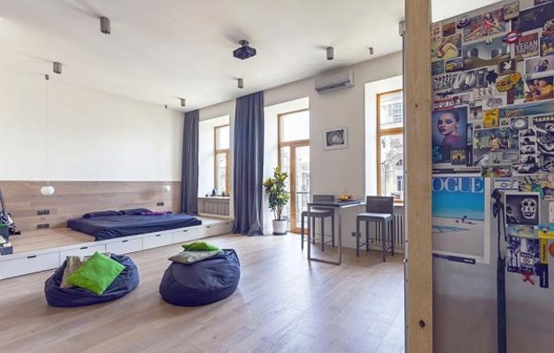 interior design and decorating small apartment
