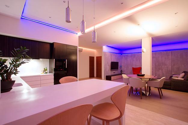 color changing lighting design