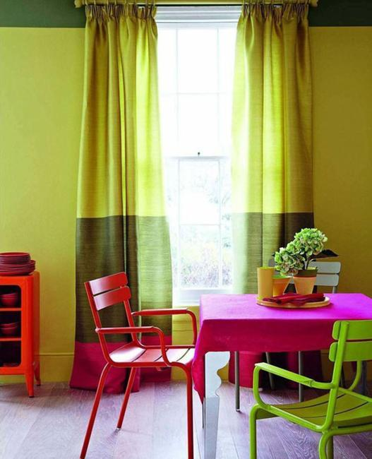 Modern Interior Design Trend Influenced By Color Block