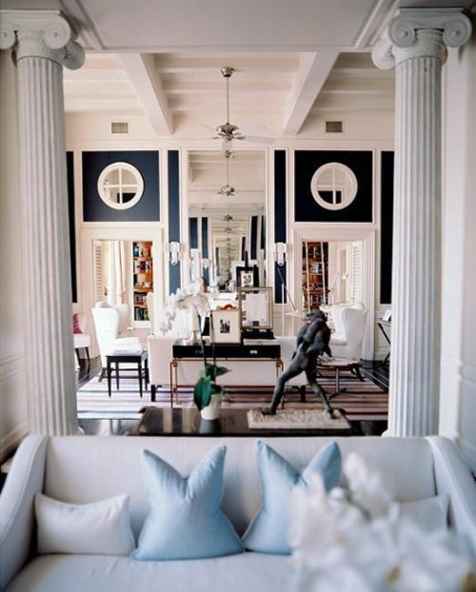 35 modern interior design ideas incorporating columns into - Home interior decoration ideas ...