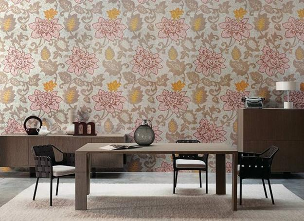 Modern Wall Tiles With Innovative And Bright Floral Designs