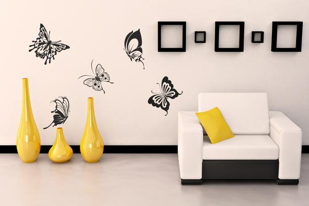 Gentil Simple Stenciling And Wall Painting Ideas