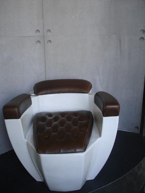 Leather Toilet Seat