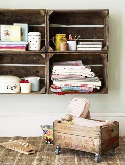 40 Ideas For Modern Home Decorating With Rustic And Painted Wooden Boxes Interesting Decorating Wooden Boxes