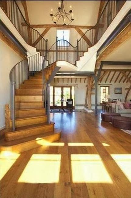 Beautiful Barn Conversion Design Creating Bright And
