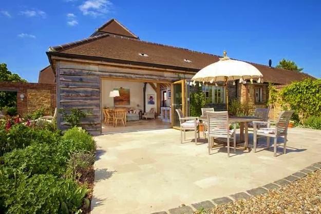 Beautiful Barn Conversion Design Creating Bright And