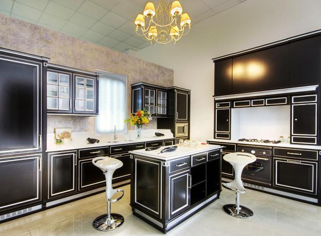 25 Black Kitchen Design Ideas Creating Balanced Interior Decorating Color  Schemes