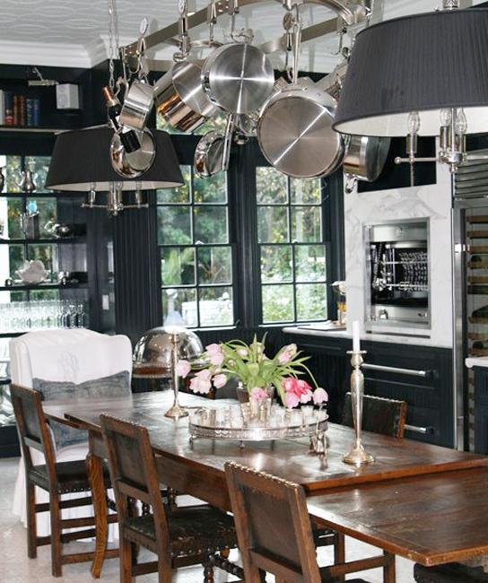 25 Black Kitchen Design Ideas Creating Balanced Interior