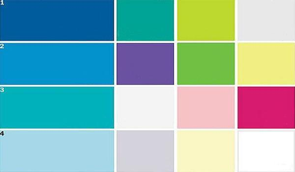 Modern Interior Design Color Schemes With Blue