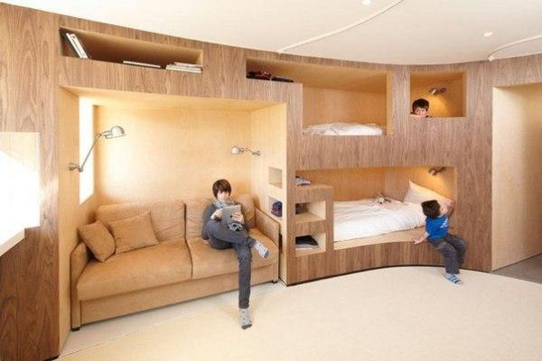Modern Bunk Beds Offering Attractive Space Sacing Ideas