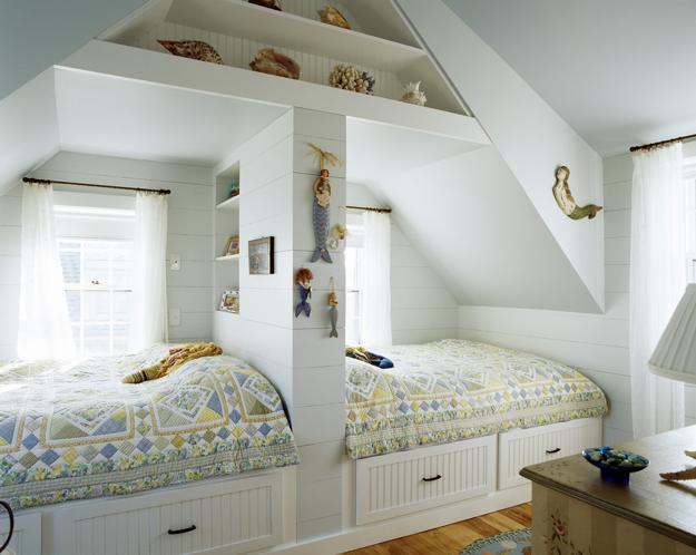 30 custom built in kids beds for unique room design to match kids rh lushome com built in bedside cabinets built in bedside lights